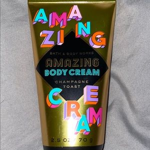New Champaign Toast Bath and Body Works Body Cream